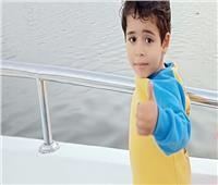 استغاثة لوزيرة الصحة.. «ياسين» طفل الإسماعيلية يعاني من ضمور العضلات