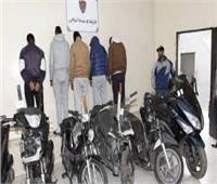 تجديد حبس تشكيل عصابي متهم بسرقة الدراجات النارية في الخليفة
