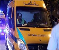 مصرع شخصين وإصابة 3 في حادث تصادم بطنطا
