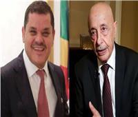 قبل جلسة منح الثقة.. اجتماع رئيس الحكومة الليبية مع رئيس البرلمان