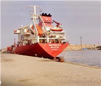 اقتصادية قناة السويس: شحن 4000 طن صودا كاوية بميناء غرب بورسعيد