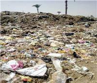 أهالي قرية تندة بالمنيا: «أغثونا من تلال القمامة»