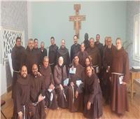 الأنبا باخوم يشارك في المؤتمر السنوي التكويني لإقليم العائلة المقدسة