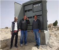 تنفيذ مشروعات الكهرباء بالخطة الاستثمارية بقرى وسط سيناء