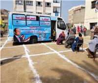 محافظة الغربية تتابع تنفيذ القوافل الطبية ضمن مبادرة حياة كريمة