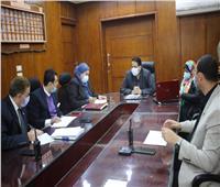 وكيل وزارة التعليم يتابع ختام سير امتحانات النقل بغرفة العمليات الرئيسية