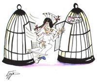 الأحد.. افتتاح معرض «هي» لرابطة رسامات الكاريكاتير