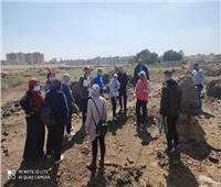 بدء أول مدرسة حفائر لمفتشي قطاع الآثار الإسلامية والقبطية بالفسطاط