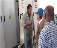بدء تنفيذ ربط قرية عرب صالح بمرسى علم بالشبكة الموحدة للكهرباء