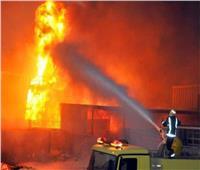 ماس كهربائي وراء حريق مول تجاري بالموسكي