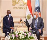 الهيئة العربية للتصنيع تستقبل سفير جمهورية أنجولا