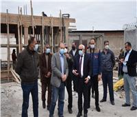 محافظ بورسعيد يشدد على  سرعة الانتهاء من إنشاء مقر تخريد السيارات