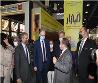 سفير الاتحاد الأوروبي يزور معرض البازار