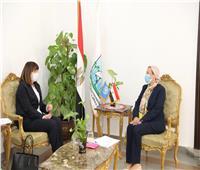 وزيرة البيئة تبحث سبل التعاون مع المنسق المقيم للأمم المتحدة بالقاهرة