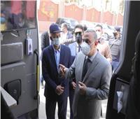 تدشين خدمة «الحي المتنقل» لتقديم الخدمات الحكومية بسوهاج