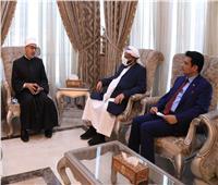 الأزهر يلتقي وزير الأوقاف اليمني لبحث التعاون المشترك في مواجهة التطرف