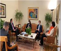 وكالة الشراكة من أجل التنمية تستقبل المنسق المقيم للأمم المتحدة في مصر