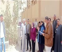 نائب محافظ القاهرة: رفع كفاءة المداخل الرئيسية بتقسيم اللاسلكي بالمعادي