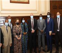 وزير الزراعة يستقبل وفدًا من غينيا لبحث آفاق التعاون