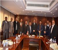 توقيع اتفاقية تعاون بين غرفتي الجيزة التجارية ودرنة الليبية