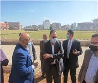 إعادة رصف محور مروري هام بمدينة فاقوس بتكلفة 5 ملايين جنيه