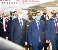 الرئيس التونسى يؤكد ضرورة تجاوز الخلافات مع ليبيا