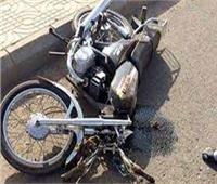 إصابة شخصين في انقلاب دراجة بخارية بالمنيا