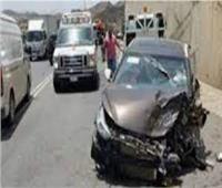إصابة ثلاثة في تصادم سيارتين بالغربية