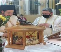 الأنبا باخوم يحتفل بعيد القديس يوسف بكنيسة الملاك ميخائيل بحدائق القبة