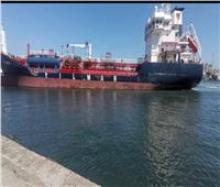اقتصادية قناة السويس: شحن 5250 طن صودا كاوية من ميناء غرب بورسعيد