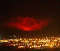 فيديو| توقفحركة الطيران.. ثوران بركانبجنوب غرب أيسلندا