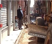 رصف 24 شارعًا بمدينة أبو قرقاص بالمنيا