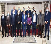 وزير الرياضة ورئيس الأوليمبية المصرية يبحثان خارطة طريق اتحاد كرة اليد