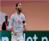 راموس يغيب عن مران إسبانيا في التصفيات المؤهلة للمونديال