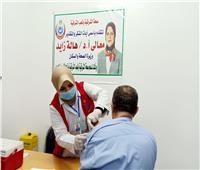 تطعيم 875 من كبار السن بلقاح كورونا بالشرقية