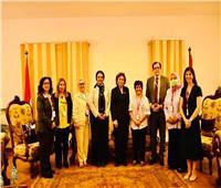 جامعة أسيوط تشارك فى احتفالية مؤسسة أم حبيبة بـ«يوم المرأة العالمي»