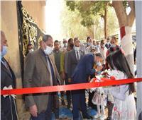 محافظ المنيا يفتتح أعمال تطوير مستشفى الحميات والصدر