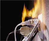 ماس كهربائي وراء حريق مخزن ملابس بالعتبة