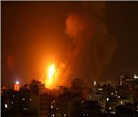 الطيران الإسرائيلي يقصف قطاع غزة بسلسلة غارات عنيفة  فيديو