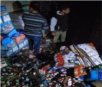 وفاة عاملين بحريق «مصنع الشيكولاتة» بالقناطر الخيرية في القليوبية