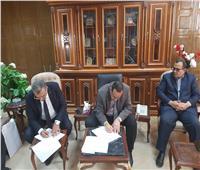محافظة شمال سيناء توقع بروتوكول تعاون مع البنك الزراعي لتوفير 82 سيارة فان