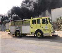 حريق ضخم في مستودع بمدينة الدمام السعودية