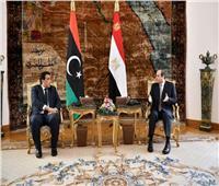 السيسي: نحرص على استقرار وأمن ليبيا وليس لنا مصلحة سوى ذلك   فيديو