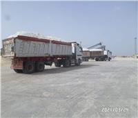 فتح بوغاز ميناء العريش لاستقبال سفن شحن الملح والأسمنت