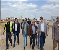 إنشاء مبنى المدرجات ومقر جامعة بنها الأهلية بالعبور