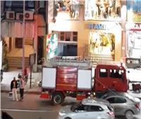 إخماد حريق في عقار بمنطقة السلام