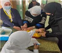 انطلاق الحملة القومية الثانية للتطعيم ضد مرض شلل الأطفال بمركز أشمون