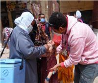 تطعيم 131 ألف طفل في اليوم الأول من حملة التطعيم ضد شلل الأطفال بأسوان