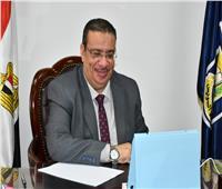 رئيس جامعة القناة يشارك في إجتماع اللجنة العليا لمحو أمية الكبار