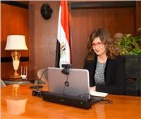 وزيرة الهجرة عن تحريك السفينة الجانحة: مصر قادرة على إدارة الأزمات